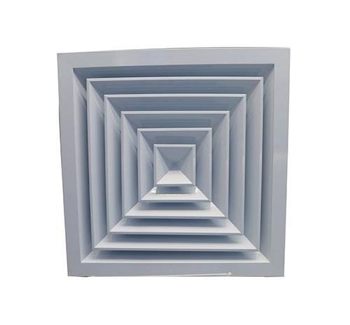 河南铝合金方形散流器